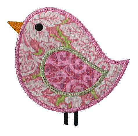 GG Designs Embroidery - Birdee Applique (Powered by CubeCart)