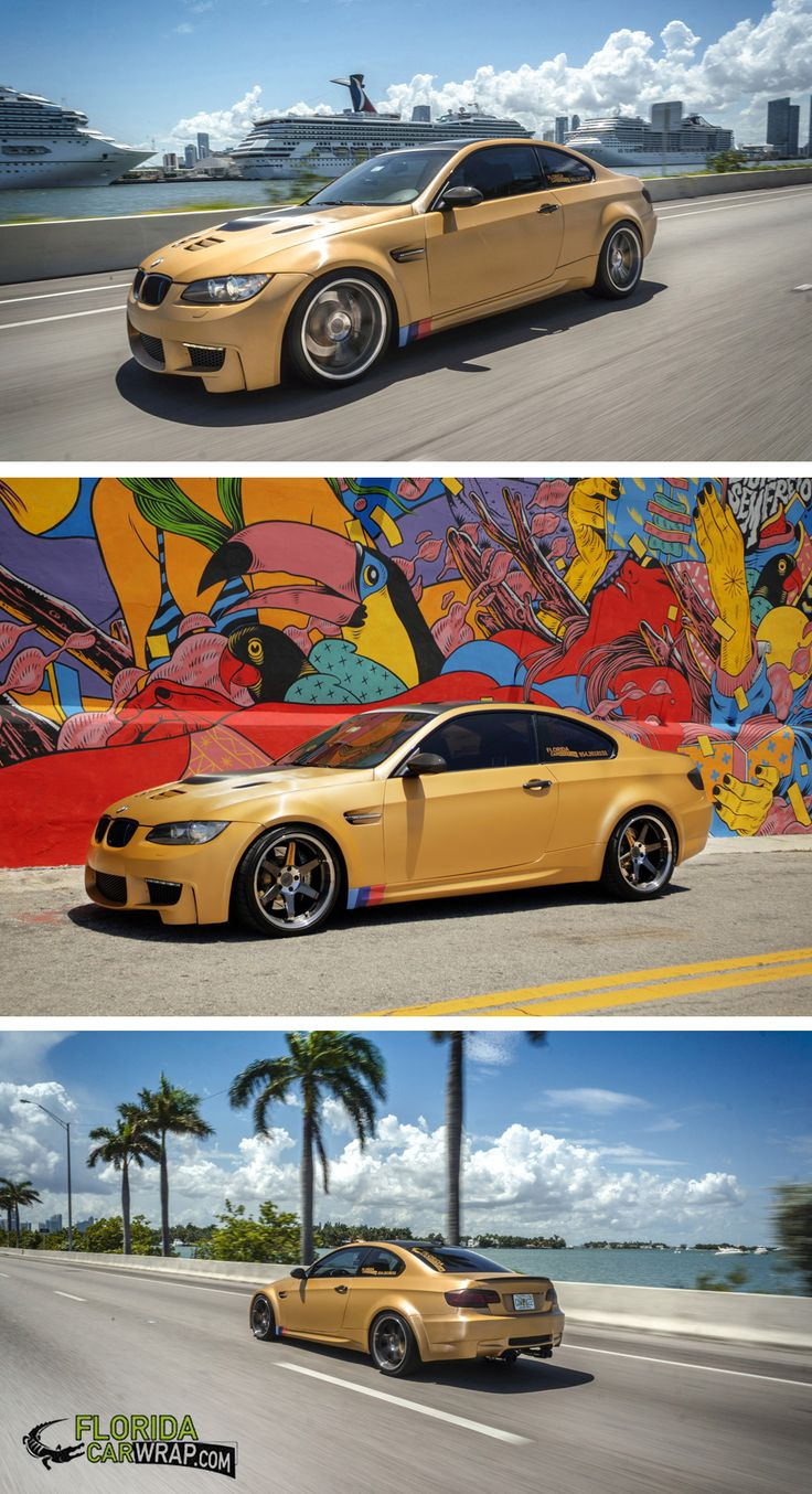 Another sweet color change wrap from florida car wrap
