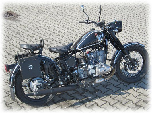 Ural Motorcycles Europe | Retro Solo
