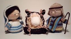 Presepe Amigurumi (Bambino) Tutorial - Nativity Crochet  - Pesebre Crochet
