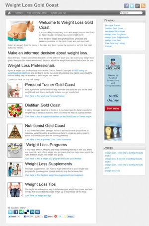 Weight Loss Gold Coast