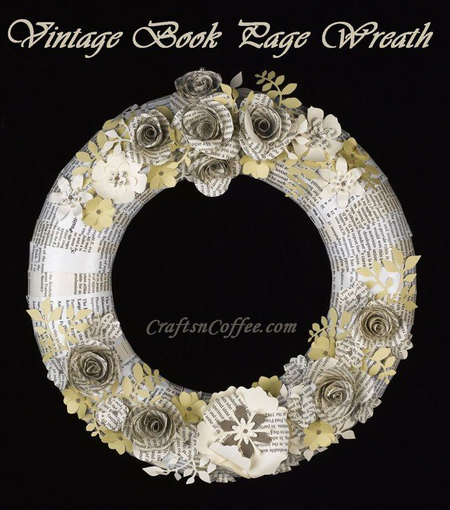 Gorgeous! Love this wreath. Complete tutorial on CraftsnCoffee.com