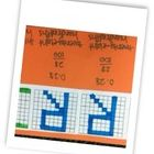 In this activity, students will practice using place value grids to make decimals. They will write each letter of their name in a different grid an...