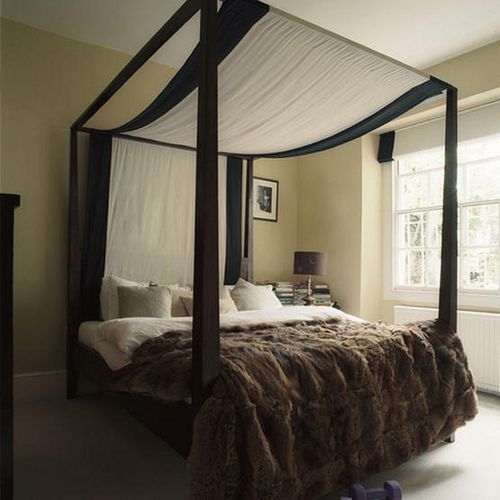canopy bed against the -#main
