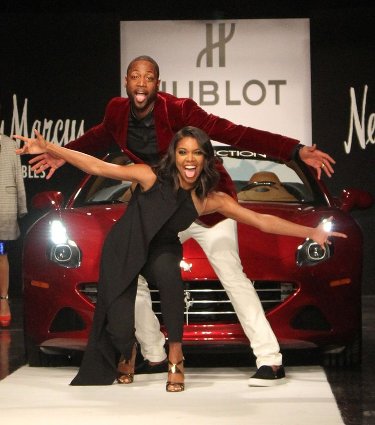 Gabrielle Union and Dwyane Wade got silly during his A Night on the Runwade fundraiser in Miami on Tuesday.