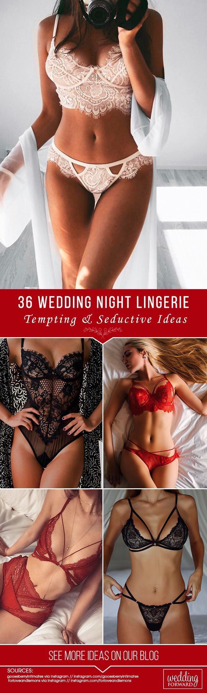 36 Tempting Wedding Night Lingeries ❤️ Do you want to make your wedding night special? Check out our list of wedding night lingerie and pick the most seductive variant for your hot wedding night! Make your wedding day and wedding-night perfect with a stun