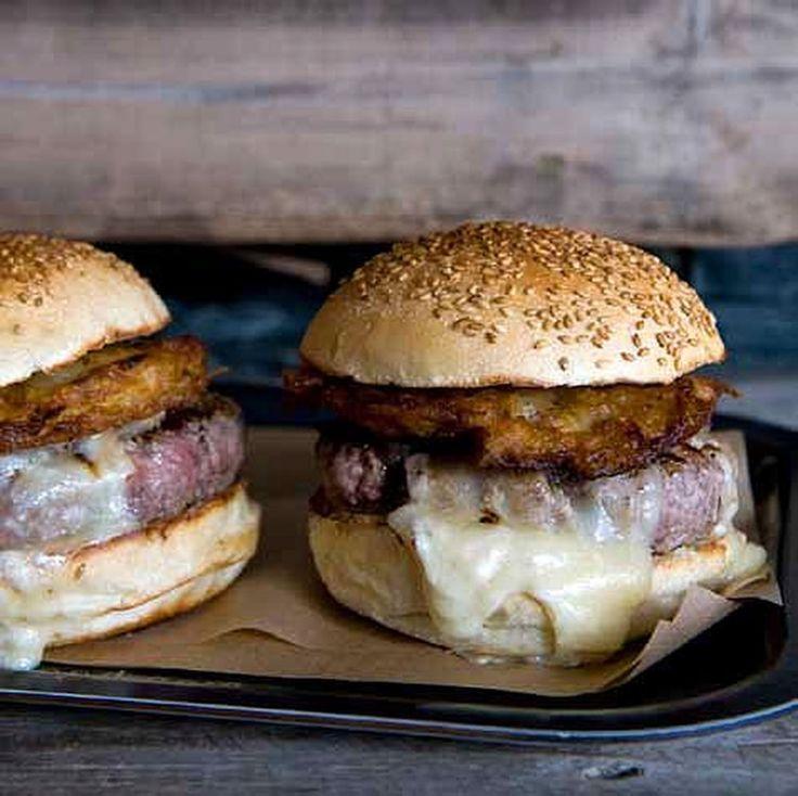Burger Alsacien, munster & rösti