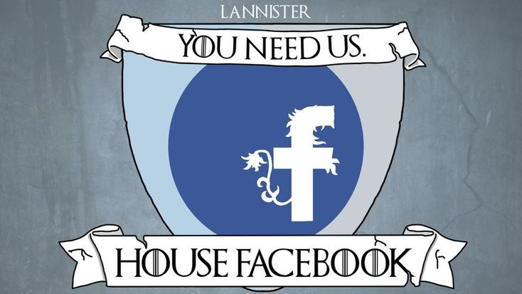 Read the sigils. If social networks were Game of Thrones Houses (then we'd all be the biggest nerds ever).
