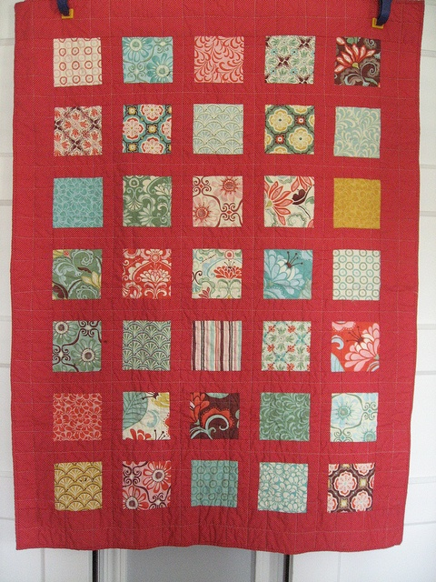 Kate Spain Fandango Small Quilt by phr0gg, via Flickr