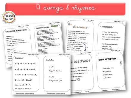 Comptines en Anglais : Sing a song !