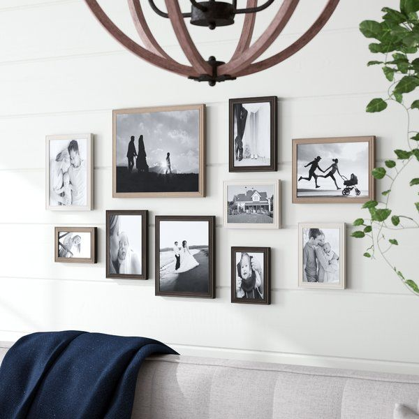 10 Piece Sturminster Gallery Picture Frame Set Gallery Wall