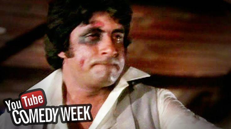 awesome Amitabh Bachchan Talking to Mirror - Amar Akbar Anthony - Comedy Week Exclusive