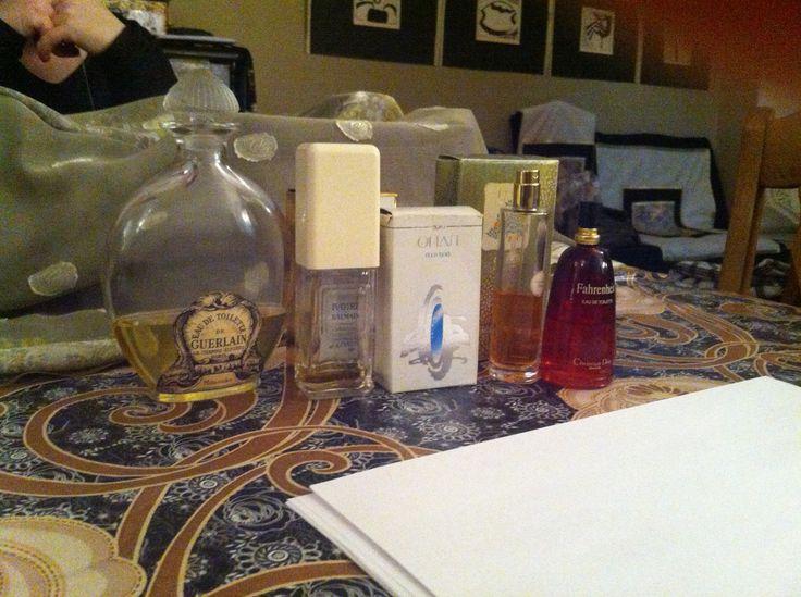 05.02.15  зачет в школе парфюмеров, мы неплохо справились :)