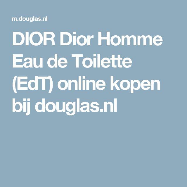 DIOR Dior Homme Eau de Toilette (EdT) online kopen bij douglas.nl