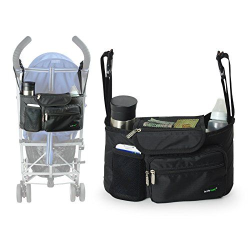Lavievert Functional Stroller Organizer Diaper Bag Back Seat Car Organizer with Bottle Holders for Traveling or Outings Lavievert http://www.amazon.com/dp/B00Y7OBIAQ/ref=cm_sw_r_pi_dp_BZOuwb1GW3JQX