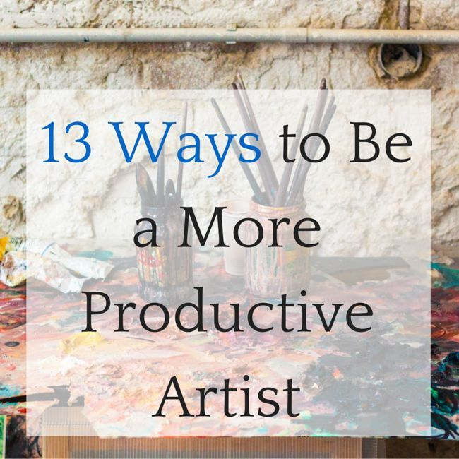 I recently asked the artists that follow TAA on social media for their tips on how to be more productive & efficient in the studio. We got some GREAT answers and inspired tons of really fun discussion. Why Does Productivity Matter? Why does productivity and efficiency even matter? Doesn't thinking like that get in the way …