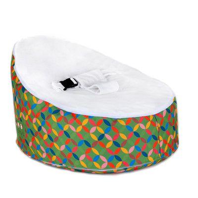 Snugglish Bean Bag Kids Faux Leather; Velvet Novelty Chair Upholstery: Green / White - http://delanico.com/bean-bag-chairs/snugglish-bean-bag-kids-faux-leather-velvet-novelty-chair-upholstery-green-white-641297605/