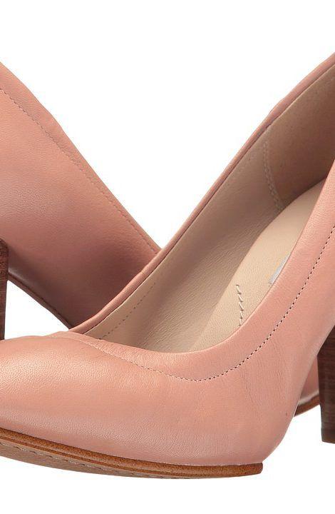 Clarks Grace Eva (Dusty Pink Leather) Women's Shoes - Clarks, Grace Eva, 26123081, Footwear Closed General, Closed Footwear, Closed Footwear, Footwear, Shoes, Gift - Outfit Ideas And Street Style 2017
