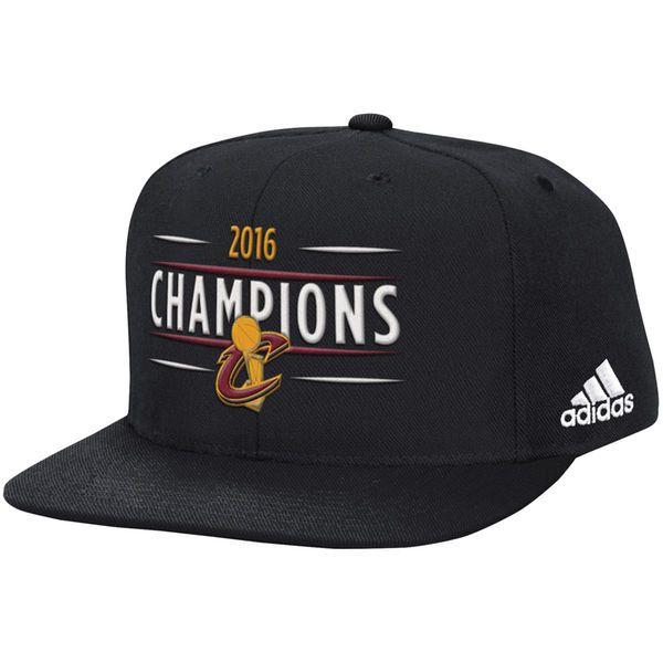 Cleveland Cavaliers adidas Opening Night 2016 Trophy Banner Collection Snapback Hat - Black - $22.99