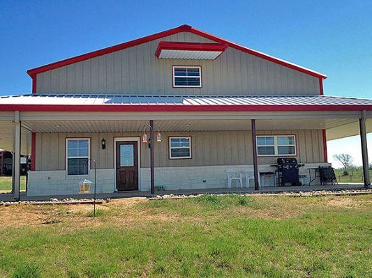 Texas barndominium building prices barndominium ideas for Two story steel building prices