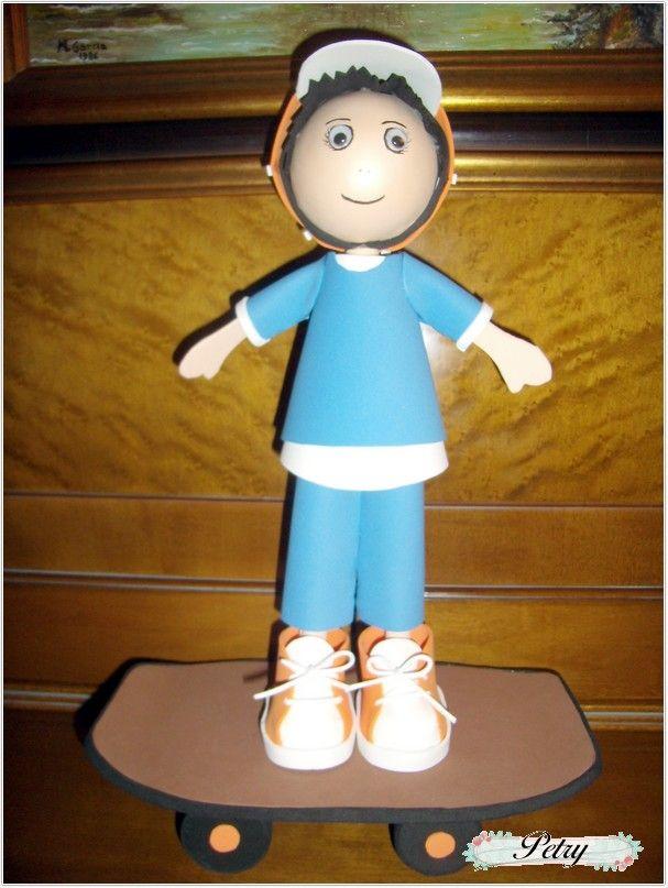 Fofucha. Skater. www.petry.es