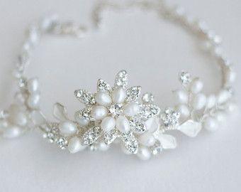 pearl bracelets off white Freshwater Pearl Bracelet wedding