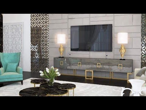 Modern Tv Unit Designs For Living Room 2019 Tv Cabinet Design Estella Diy Magazine Modern Furniture Living Room Wall Mounted Tv Modern Tv Wall
