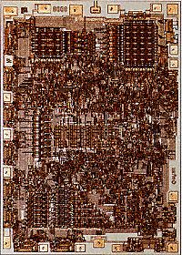 Intel's 8008 microprocessor, its eight-bit word afforded 256 unique arragements of zeros and ones. For the first time, a microprocessor could handle both uppercase and lowercase letters, all 10 numerals, punctuation marks, and a host of other symbols.