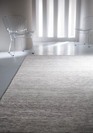 Pandora - The textural contrast within this rug gives it gorgeous depth. Hand-knotted using natural wool and art-silk, it has a durable but lustrous finish.