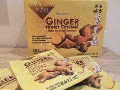 Мои покупки и отзывы на iHerb.com: Имбирный чай с мёдом
