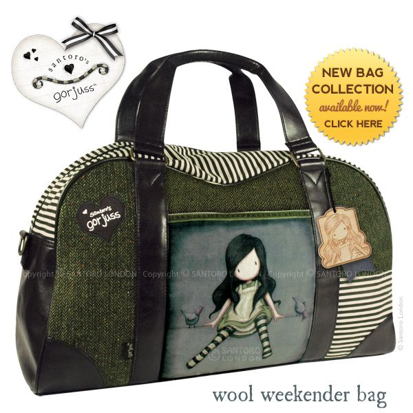 News from Santoro: New Gorjuss Bag Collection is here!