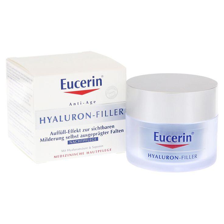 EUCERIN Anti Age Hyaluron Filler Nacht Tiegel 50 Milliliter