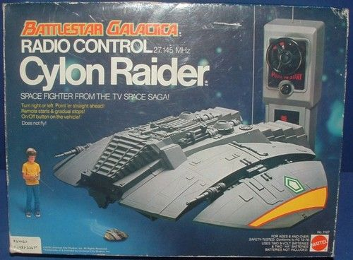 Cylon Raider-Battlestar Galactica toy