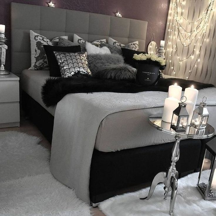 10 Romantic Bedroom Ideas For Couples In Love Bedroom Ideas For Couples Bedroom Decor Id Black Bedroom Decor Bedroom Decor For Couples Gray Bedroom