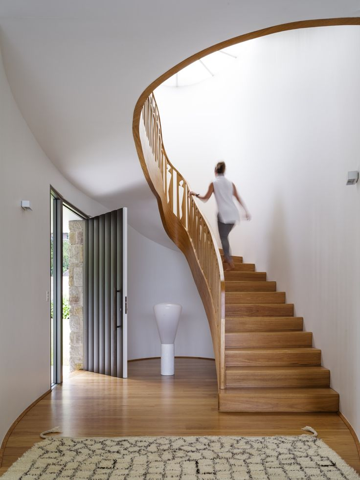 #interiors #wood #staircase