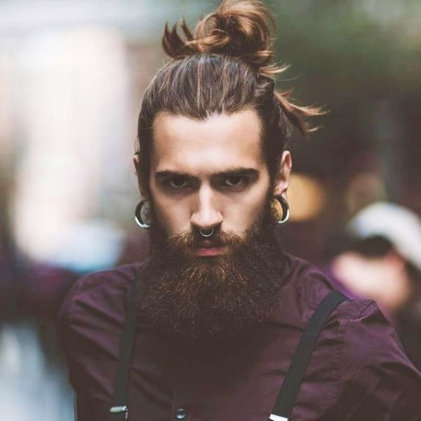 Irresistibly Attractive Long Hairstyles For Men Mens Hairstyles With Beard Beard Hairstyle Cool Hairstyles For Men