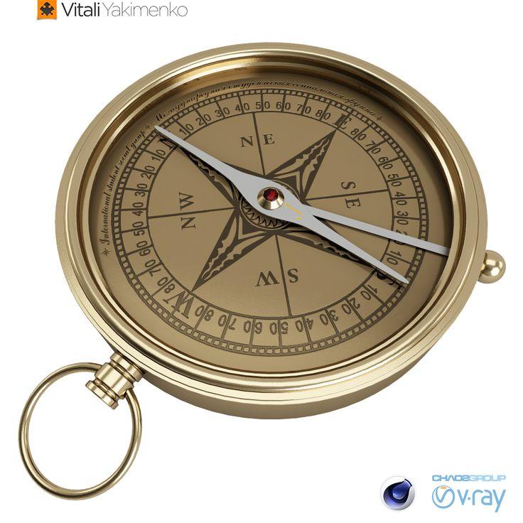 компас модель по картинке период пандемии коронавируса