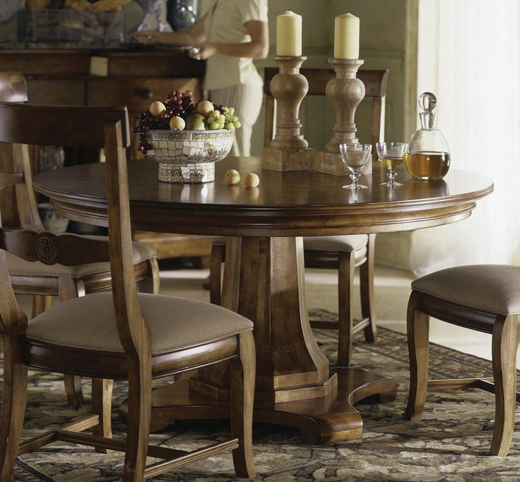 Kincaid Furniture Tuscano Round Dining Set. 39 best Kitchen Tables images on Pinterest   Kitchen tables