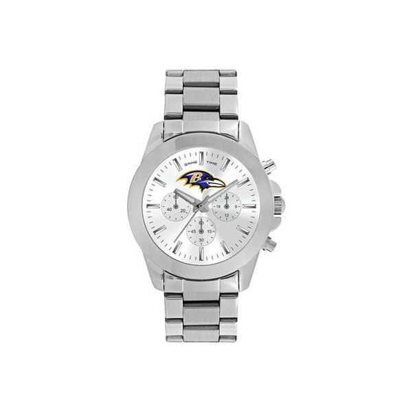 Women's Game Time Knockout Series NFL - Baltimore Ravens Sport Watches ($80) ❤ liked on Polyvore featuring none