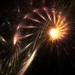 Diwali fireworks.