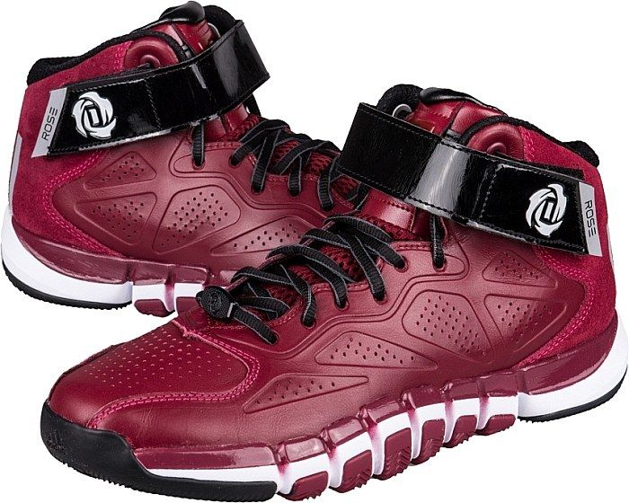 ADIDAS D ROSE DOMINATE BASKETBALL RED WHITE G98277 $125