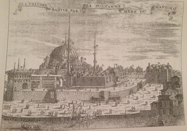 17. yüzyıl sonu Eminönü sahili. Duvarlardan eser kalmamış.