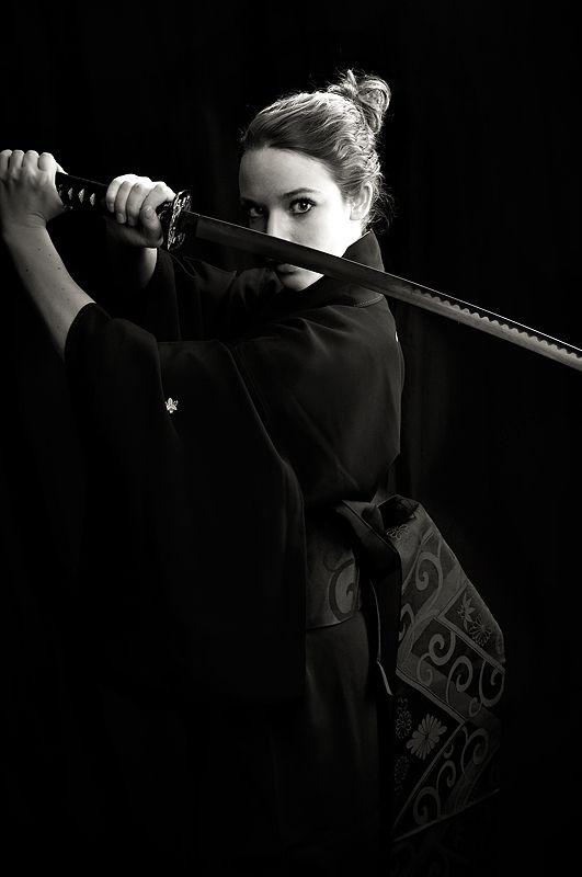 La femme Samurai