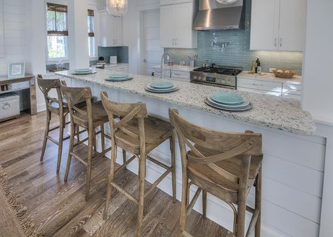 Gorgeous kitchen from david weekly homes via house of turquoise.
