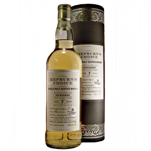 Inchgower Hepburns Choice 7 year old