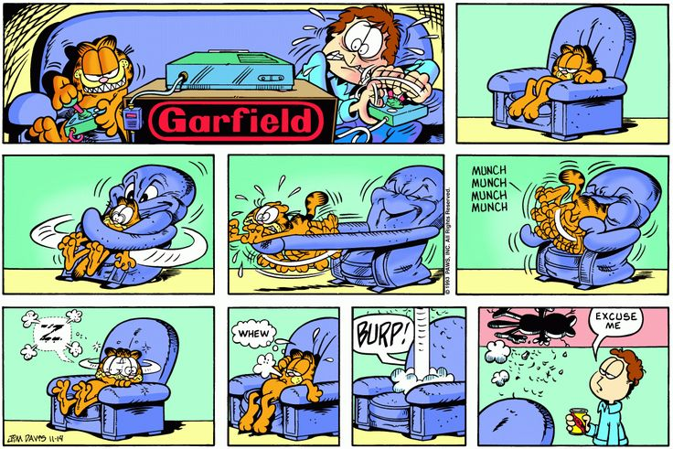 Garfield | Daily Comic Strip on November 14th, 1993