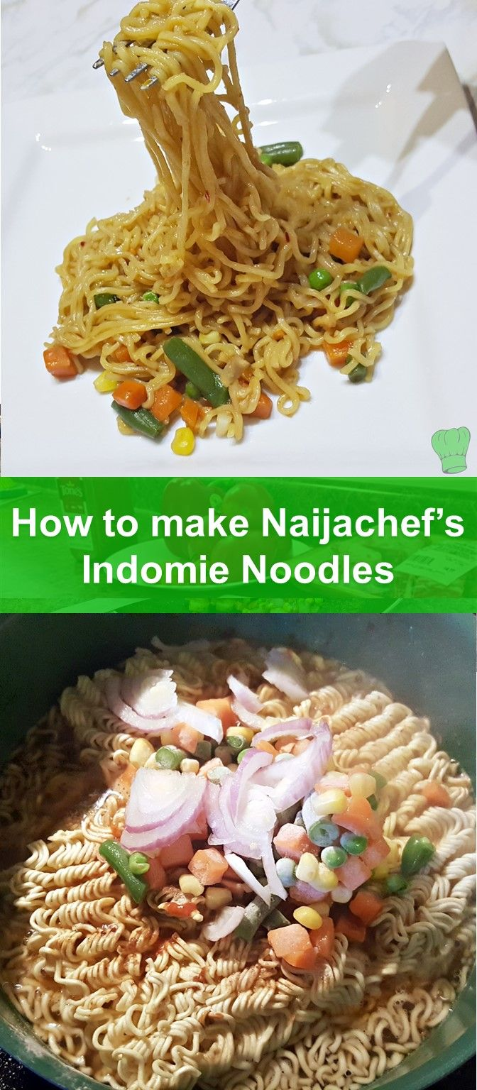 Indomie noodles are an all time favorite! Looking for a way to spice up your sachet noodles? Check this out