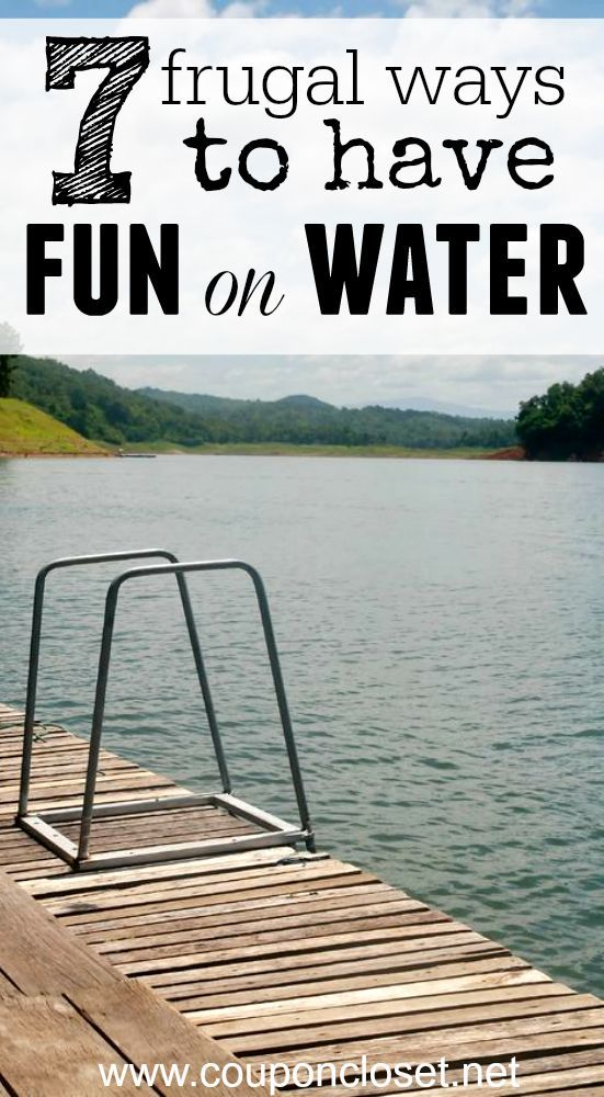 Whether you are going to the lake or the ocean, here are 7 Frugal Ways to Have Fun On the Water this Summer.
