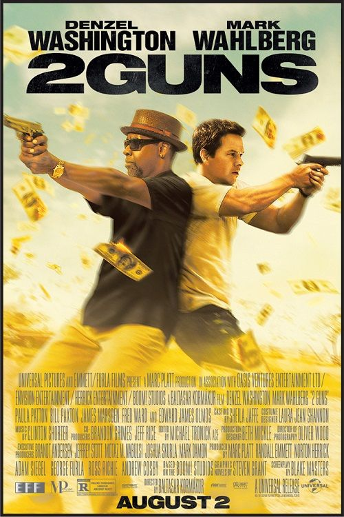 """2 Guns (2013) Denzel Washington played the role of Robert Trench """"Bobby""""."""