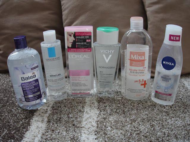 All my cosmetics: Micelární vody
